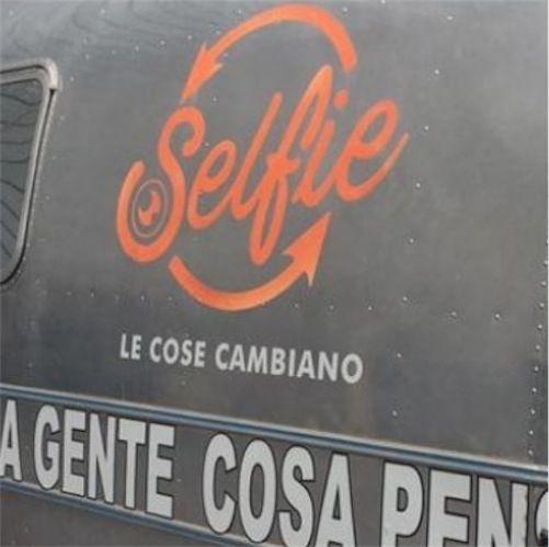 Simona Ventura Selfie canale 5
