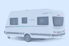 ecco la nuova caravan Dethleffs c'joy condannata a piacere