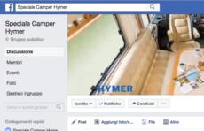 lo speciale camper Hymer su Facebook