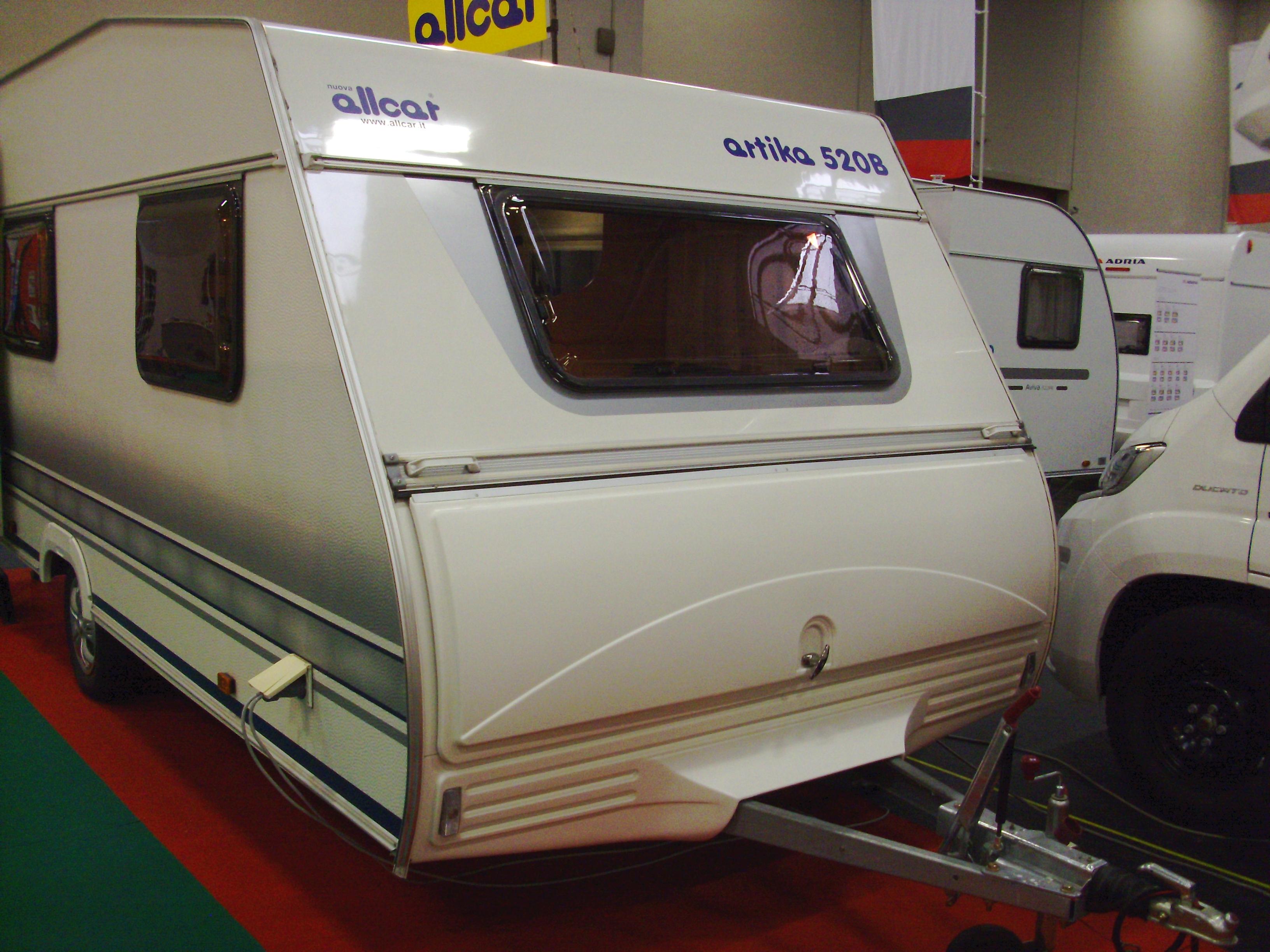 caravan Allcar Artika 370 e 520 b