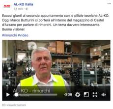 AL-KO Italia e Marco Butturini presentano il magazzino di Castel d'Azzano