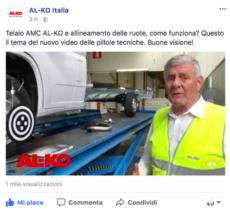 Telaio AL-KO AMC in video spiegato da Butturini