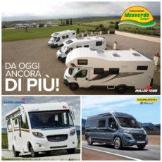 IDEAVERDECamper è la Concessionaria attiva a Brescia da oltre 40 anni nella vendita di camper e accessori. I prestigiosi marchi Eura MobileKarmann Mobil entrano da ora nella offerta di camper nuovi del centro vendita bresciano.