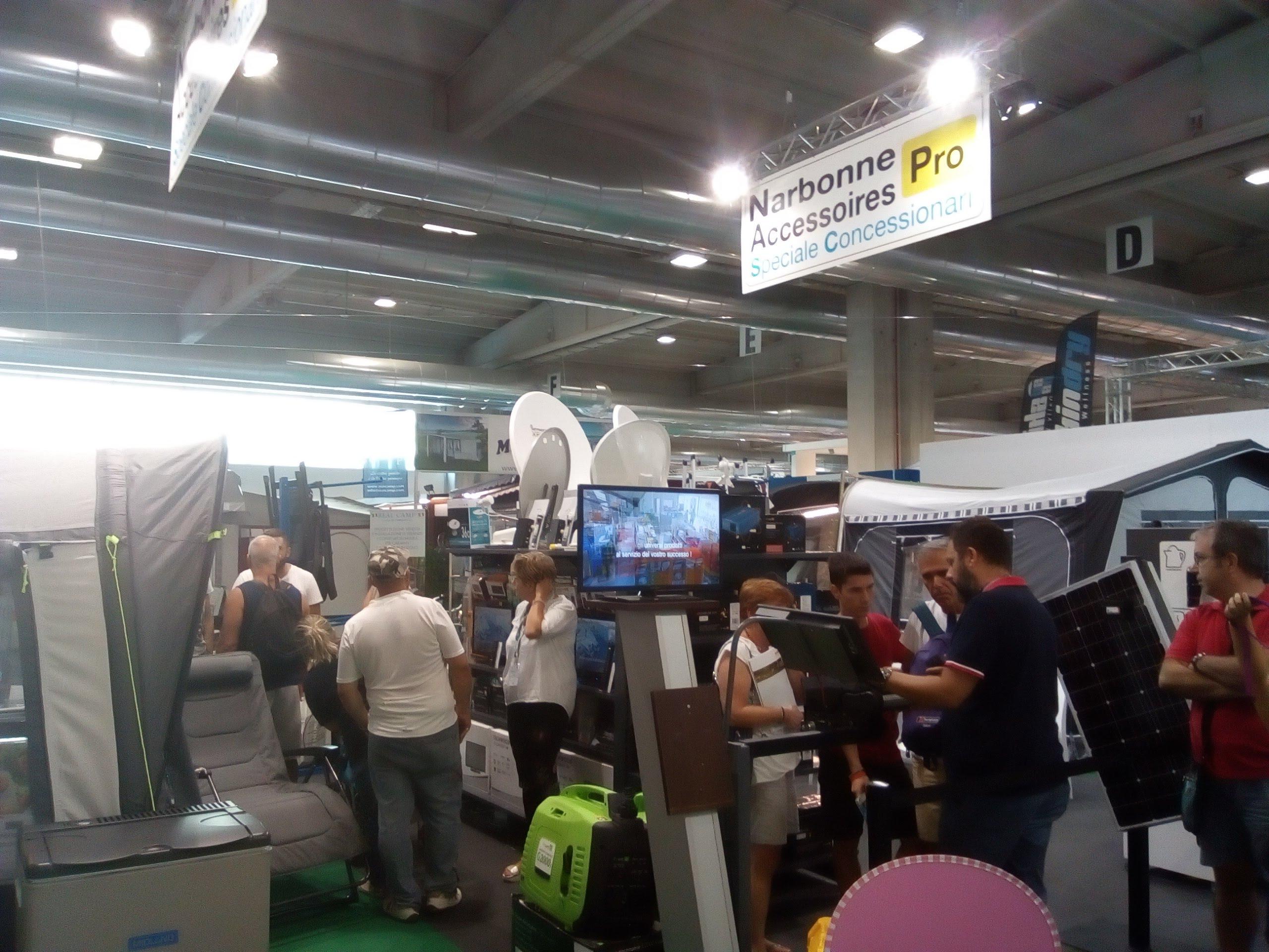 Autonord Car & Caravan al Salone del Camper 2018 con Narbonne Accessoires