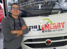Roberto Voaggi Evo Camper appuntamento al Lingotto