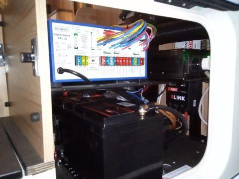 CamperLike impianto batteria al litio NDS