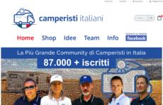 Camperisti Italiano online il nuovo sito Internet