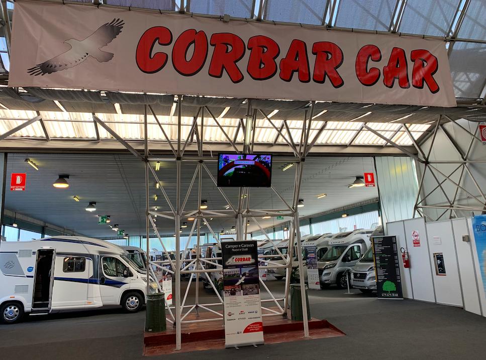 Corbar viaggio nello stand a Italia Vacanze 2019