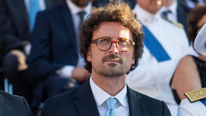 Ministro dei Trasporti e delle Infrastrutture Danilo Toninelli