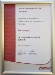 EvoCamper è il nuovo concessionario camper e caravan Dethleffs