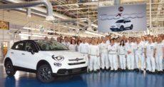 Fiat 500X record prodotte 500mila unità