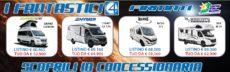 i Fantastici 4 da Camping Sport Magenta, ora o mai più