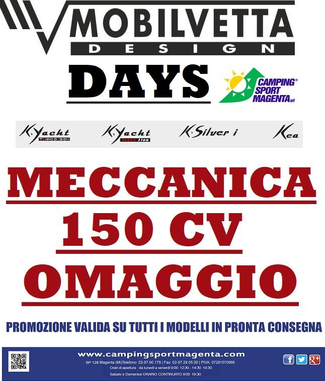 Mobilvetta Days da Camping Sport Magenta