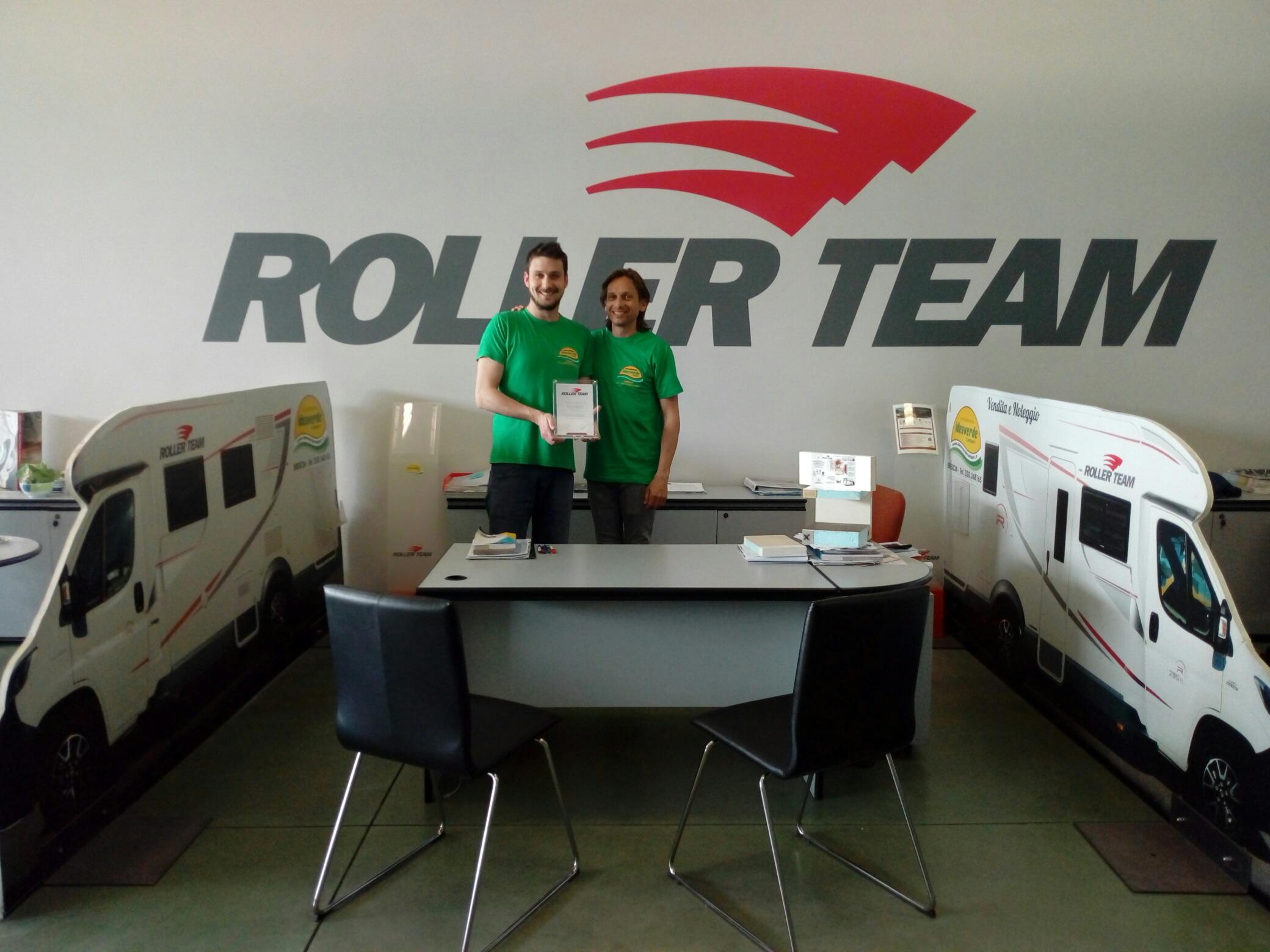 Idea Verde miglior venditore Roller Team 2018/ 2019