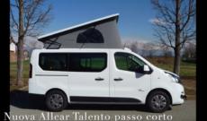 Nuova Allcar MyWay T499 su Fiat Talento passo corto