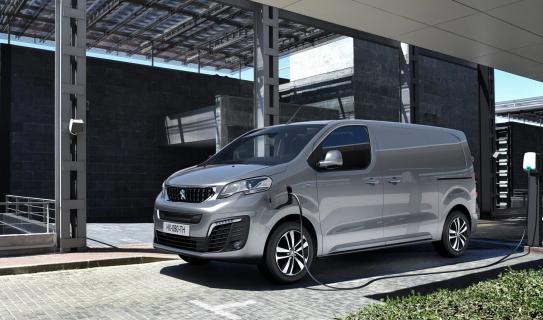 Nuovo Peugeot e-EXPERT, il furgone elettrico