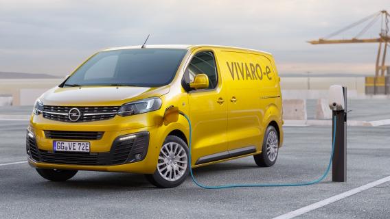 Opel Vivaro-e a partire dal 2020 in versione elettrica