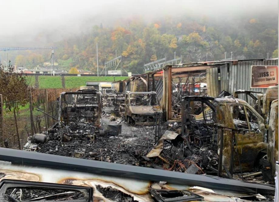 Swiss Camper Store cosa è accaduto