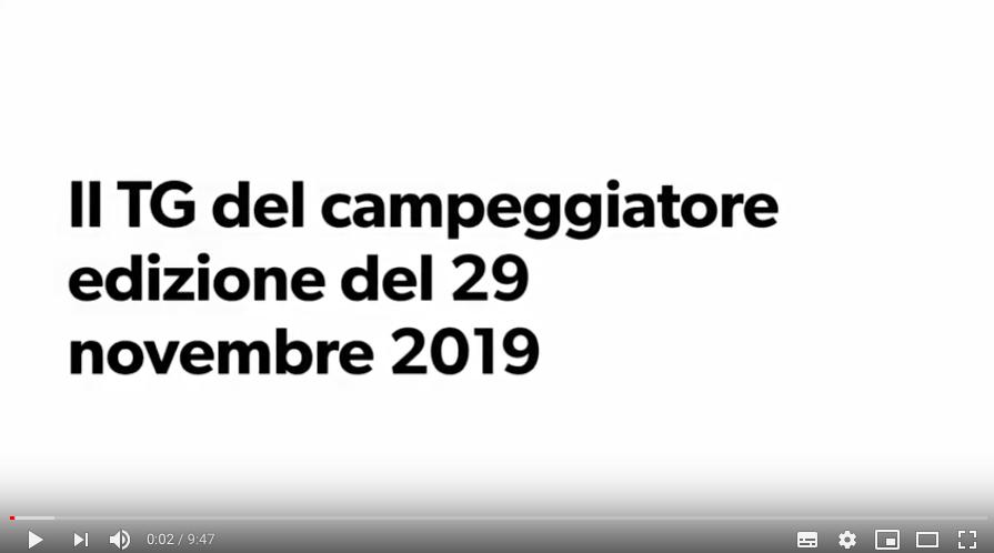 il TG del Campeggiatore parla di APC e Fiere di Parma