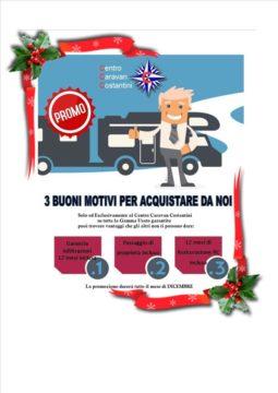 Centro Caravan Costantini e le super-occasioni di Dicembre