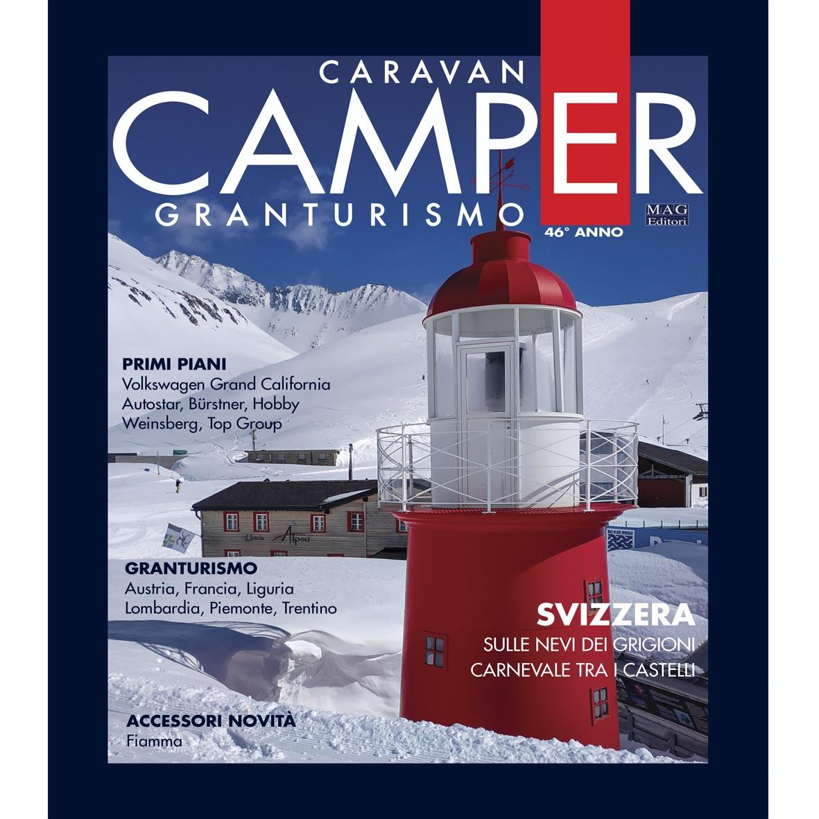 Anno nuovo Caravan e Camper nuovo