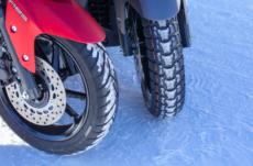 Test qualità delle gomme invernali per gli scooter
