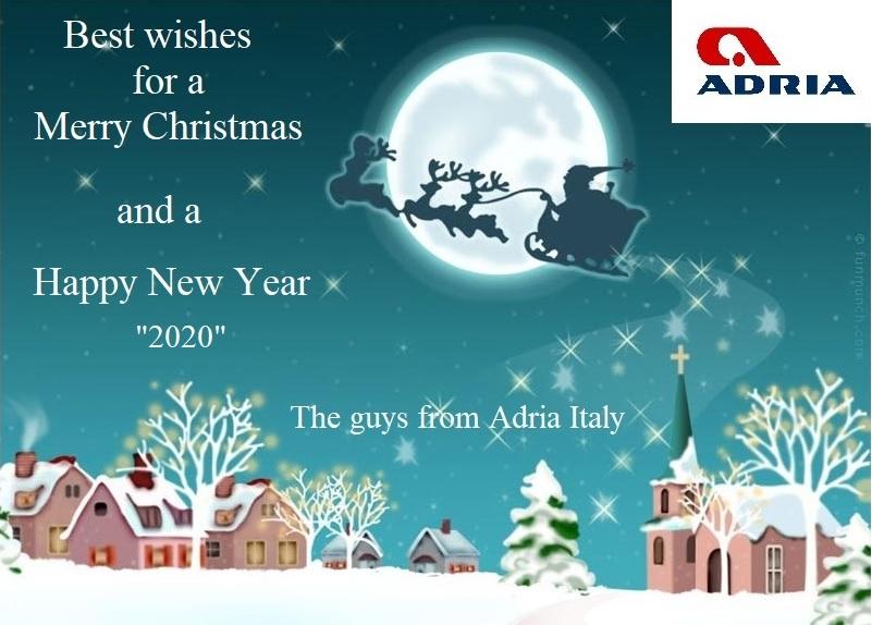 gli Auguri speciali di ADRIA Italia