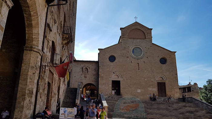 San Gimignano in camper