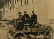 1900 una Peugeot vinse la prima gara tra veicoli commerciali
