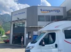 Eurogarage assistenza auto camper caravan a Domodossola