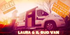 Laura e il suo Knaus 540 BoxStar da VAN Pedro questa sera