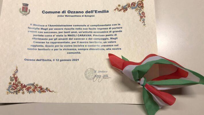 il Comune di Ozzano Emilia omaggia Magli