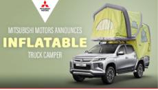Mitsubishi accordo con Gente Test per pick up con cellula gonfiabile
