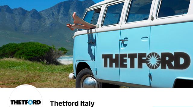 Thetford Italia pagina Facebook ed evento online il 25 aprile
