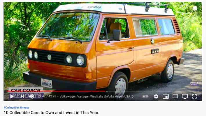 Westfalia Joker su Volkswagen Transporter T3 un vero investimento