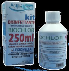 Acquatravel annuncia il ritorno di Biochlor 250 ml