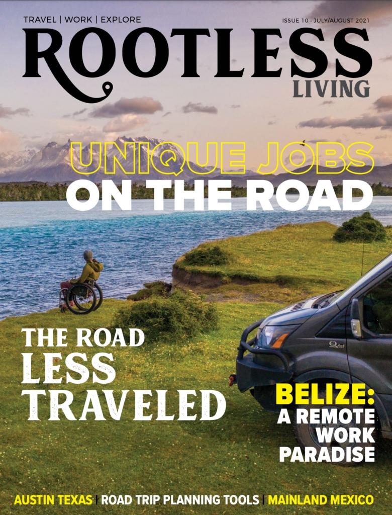 numero doppio Luglio/ Agosto di Rootless Living in distribuzione