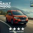 Renault Kangoo ottiene 4 stelle Euro NCAP