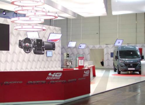 Fiat Ducato festeggia il primato al Caravan Salon 2021