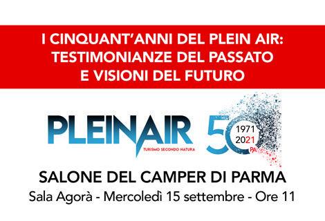 PleinAir 1971-2021i primi cinquant'anni della storia
