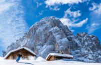 Si torna a sciare in Val Gardena