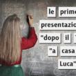 le prime cinque presentazioni